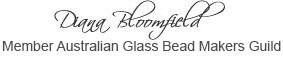 Di Glass Bead Guild sign