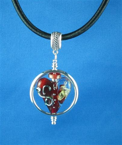 Heart of Gold Pendant side 2 (Small)