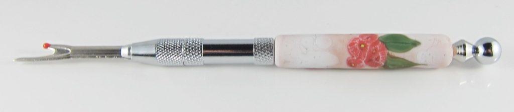 HUP078W Etched gum flower Unpicker