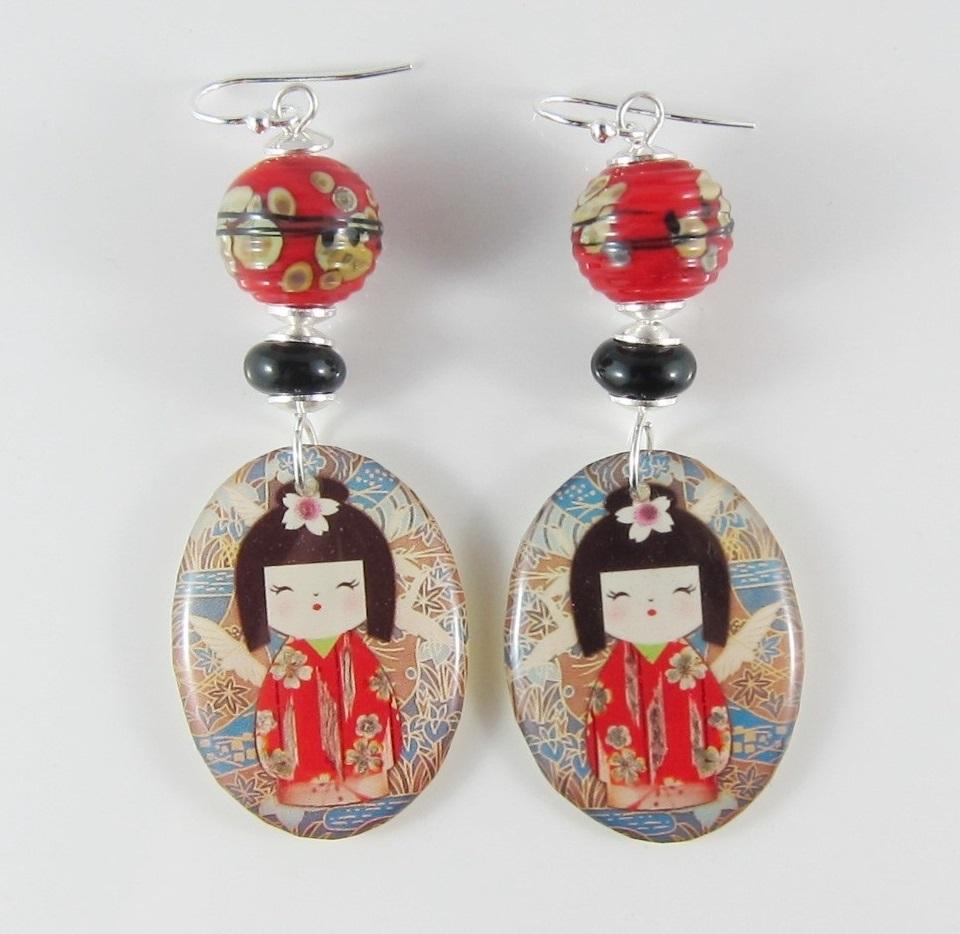 JER2714W Beautiful Bright Earrings